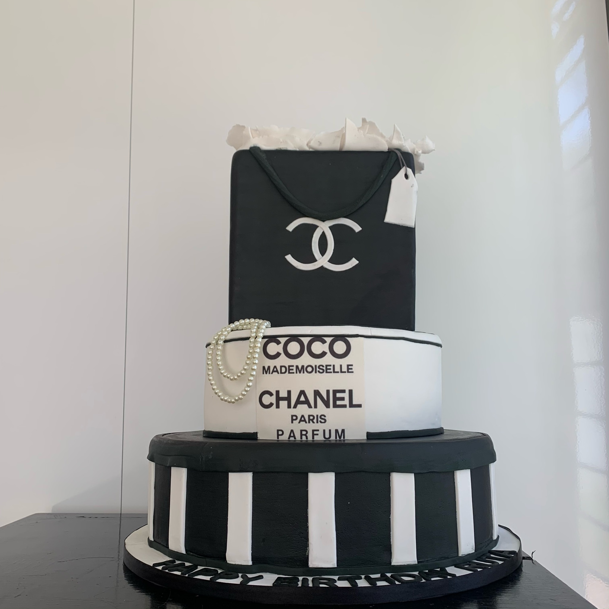 Custom Chanel Bag Cake