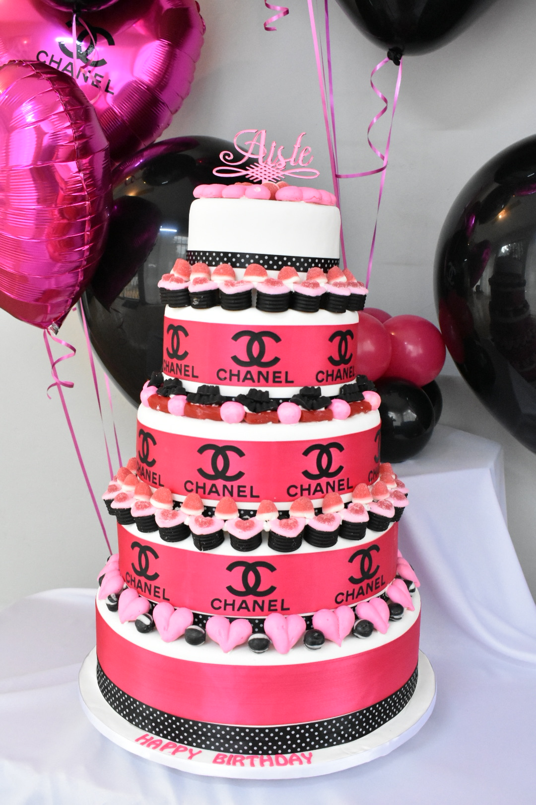 Custom Luxury Chanel Cake