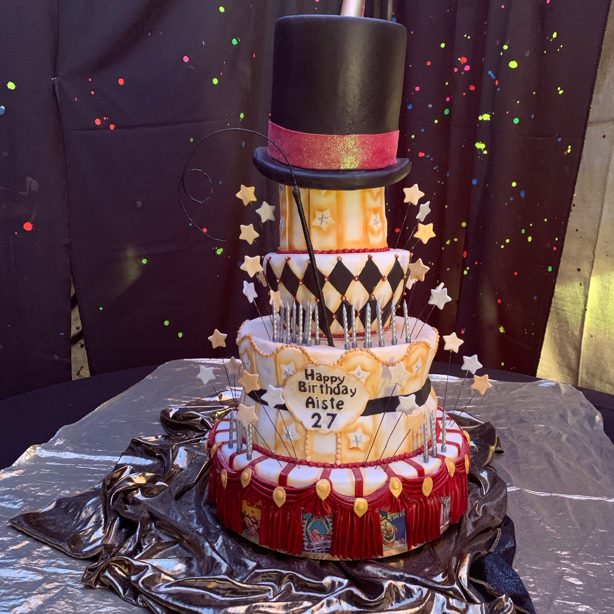 Custom Magician luxury Cake