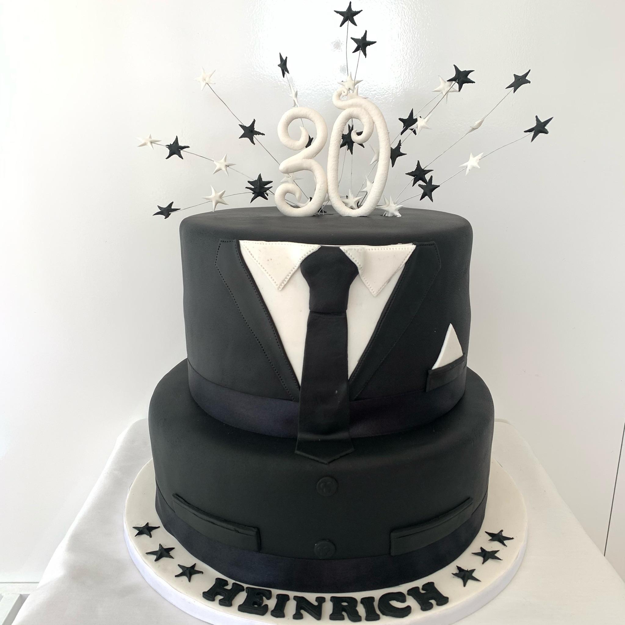 Elegant Suit cake